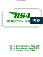 BSA D14 175 Bantam Supreme Sports Bushman Maintenance Instruction Manual.pdf