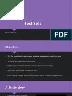 text sets