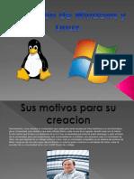 Linea de Tiempo de Linux y Windows