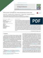 Altieri - Urban Sprawl Scatterplots for Urban Morphological Zones Data - 2014