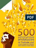 Adivinanzas Andaluzas 500 -139 Pgs