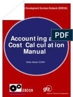 Accounting Cost Calculation 14-2-04
