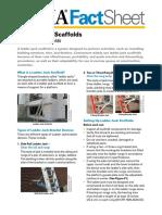 Ladder Jack Scaffold OSHA3857