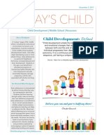 childdevelopment- middleschool
