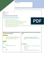 lesson plan- letter g