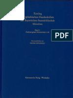 TIFTIXOGLU VICTOR 2004 Katalog Der Griechischen Handschriften _ PART _ BSB Cod.graec.9