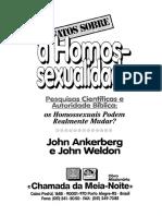 Os Fatos sobre a Homossexualidade - John Ankerberg e John Weldon.pdf