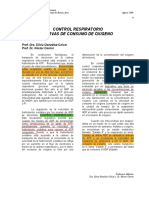 Curvas de consumo de O2 - FMED UBA