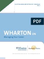 Wharton CareerMgt2