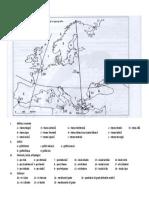 Harta - Articulatiile tarmurilor