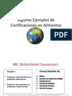 Normas IsoAlgunos Ejemplos de Certificaciones en Alimentos[1]