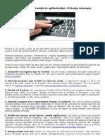 9 jednostavnih koraka za optimizaciju i čišćenje računara.doc