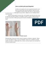 Combate Artrita