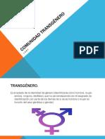 Comunidad Transgénero