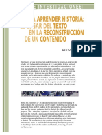 Torres_Leer Para Aprender Historia