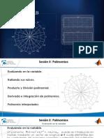 Matlab - Mod i - Sesion 5 - Polinomios-presentacion