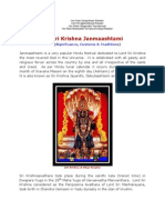 Sri Krishna Janmaashtami (Significance, Customs and Traditions)