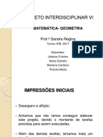 Apresentação Sobre o Projeto Inter VI