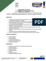 Guía No 2. Superficies Equipotenciales y Lineas Campo Eléctrico