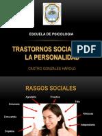 Transtornos Sociales de La Personalidad
