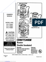 315175040 Owners Manual
