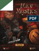 Jogo de Tabuleiro Mice and Mystics Regra