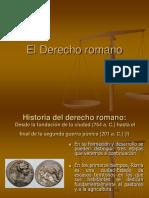 Derecho Romano Periodos y Fuentes