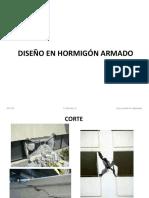 Diseño en Hormigón Armado (Corte)