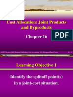 Allocation of Joint Costs