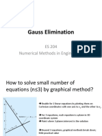 9 Gauss Elimination