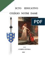 Proyecto Educativo Colegio Notre Dame