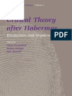 Critical Theory After Habermas