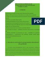 Curriculum-ul Preşcolar Aspecte Descriptive Şi Integrare Curriculară