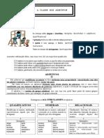 Adjetivo - Trabalho e Informativo