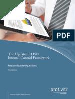 Updated Coso Internal Control Framework Faqs Third Edition Protiviti