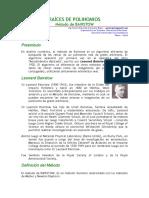 Metodo de Bairstow. Raices de Polinomios