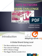 mtv arabia challenge Geo 334 case study #3 p186 q1-2 mtv networks: the arabian challenge 1) experts felt that one of the biggest challenges faced by mtv while launching mtv arabia was the prevalent culture in the arab world.