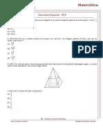 Geometria Espacial - AFA
