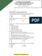 Latihan Soal UAS Kimia Kelas 10 Semester 1