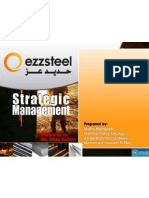 Ezz Steel Strategic Management Project