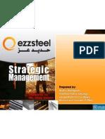 Ezz Steel Strategic Management Project