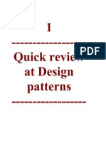 Quick Review at Design Patterns and php