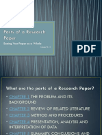 Parts of Research