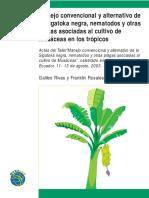 Manejo Convencional y Alternativo de La Sigatoka Negra Nematodos y Otras Plagas Asociadas Al Cultivo de Musaceas en Los Tropicos 1242
