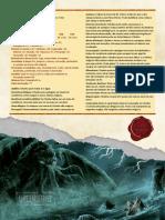 D&D5E Cthulhu FichaDeMonstro Homebrew UncensoredRPG