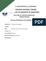 Analisis Interno y Externo de La Empresa Josfranc s.a.c