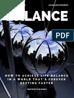 F4 Life Balance Workbook