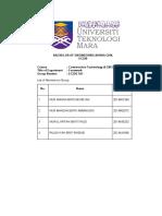 Full Report Formwork