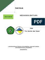 Laporan Praktikum Mekanika Batuan3