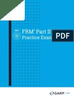 GARP 2017 FRM Part II Practice Exam